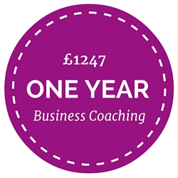 One year of coaching with Business Coach, Lucy Stanyer www.lucystanyerlifecoach.com