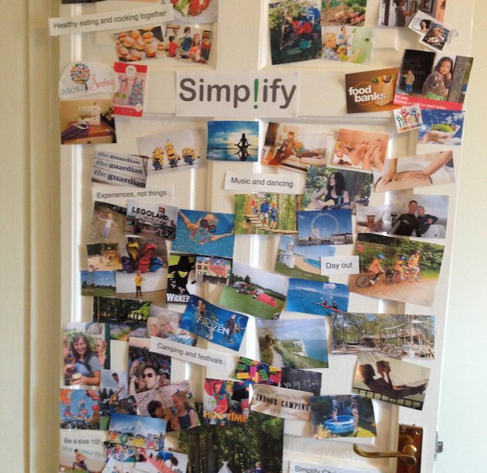 Create work-life-family balance with a Family Inspiration Board