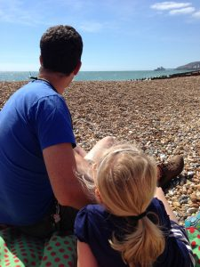 [Image: father and daughter on beach] Create your work-life-family balance with a Family Inspiration Board. Blog post by Lucy Stanyer Life Coach. www.lucystanyerlifecoach.com