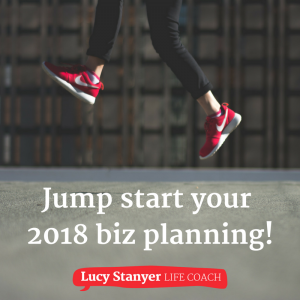 Jump start your 2018 biz planning - red trainers 800x800