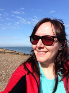 Image: Lucy Stanyer Life Coach on a training walk at Whitstable - blog about big goals - www.lucystanyerlifecoach.com