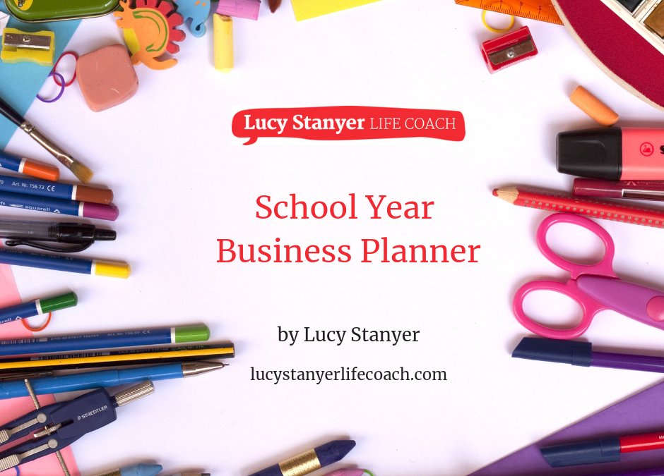 Balancing your business and school holidays [free planner]