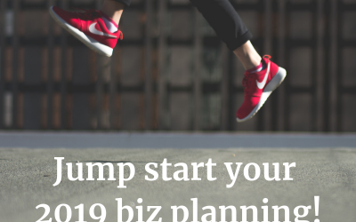 Need a Jump Start for your 2019 business plan?