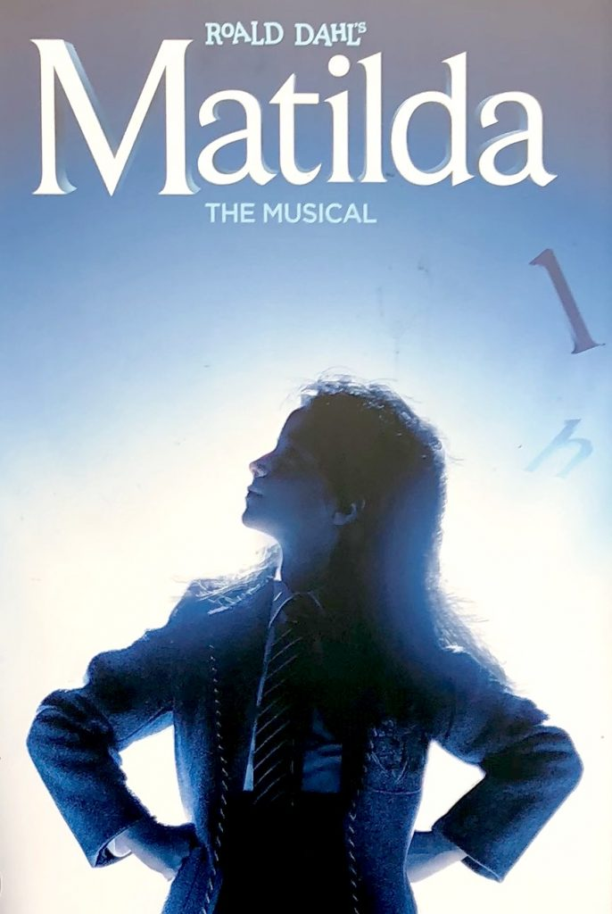 "Matilda poster from the show - ""Nobody but me is going to change my story. Sometimes you have to be a little bit naughty."" blog by www.lucystanyerlifecoach.com"
